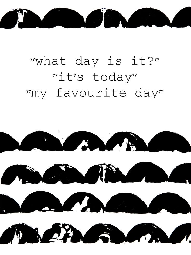 My favorite day :: Poster 30x40 cm via kraftkollektivet. Click on the image to see more!
