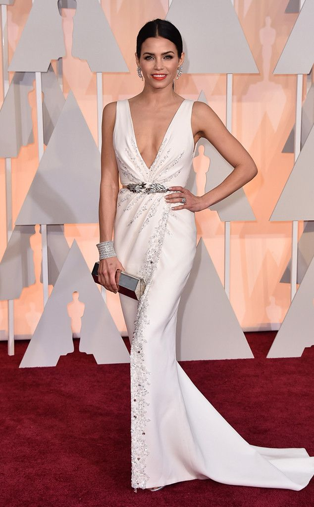 Jenna Dewan-Tatum in Zuhair Murad at the Academy Awards 2015 | #2015Oscars #redcarpet #bestdressed