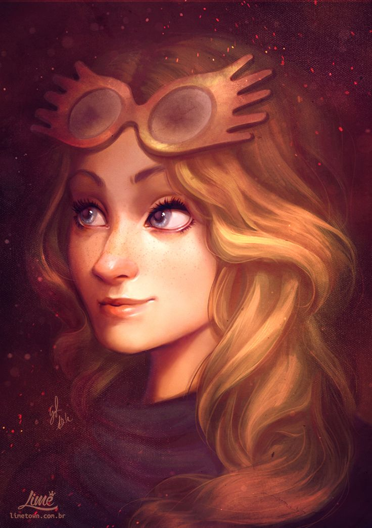 Luna Lovegood by AmandaDuarte on @DeviantArt