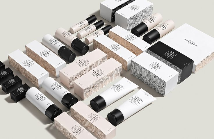 Mecca Cosmetica packaging designed by Fabio Ongarato Design