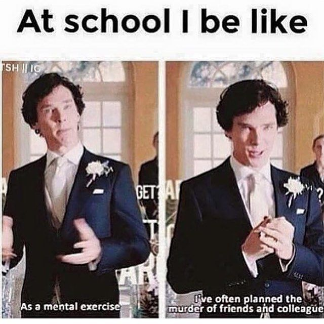 I am laughing so hard even though I am home schooled lol I would plan it for my siblings though!