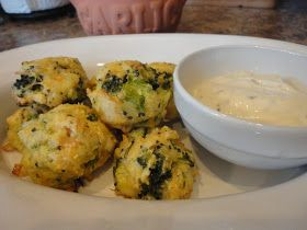 The Low Carb Review: Chicken and Broccoli Fritters