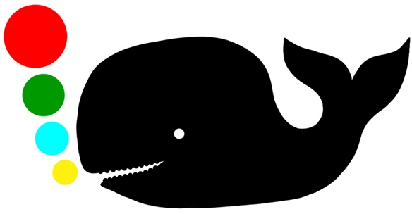 Walvis silhouet Flocken  Google Image Result for http://2.bp.blogspot.com/_hbMpclD7H2Y/S2AZD3m8fYI/AAAAAAAAACw/so_yGvUiMqA/S748/small-whale-with-colour-bub.jpg