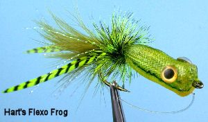 Flexo Frog. Frogs and Bass Fishing