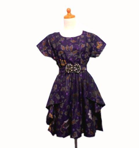 dress batik DB068