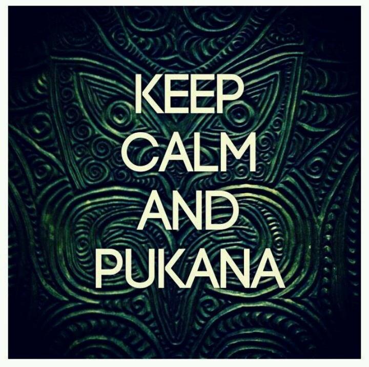 Keep Calm & Pukana!