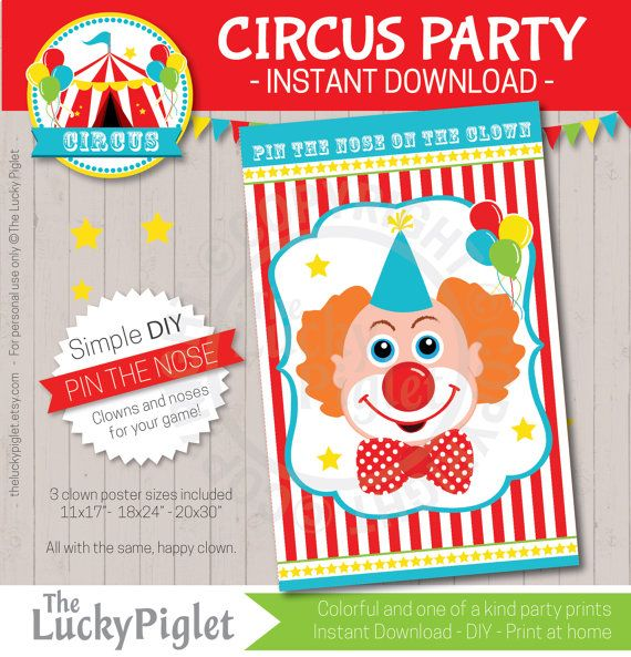 12 Fun Circus Carnival Party Games: 25+ Unique Circus Party Games Ideas On Pinterest