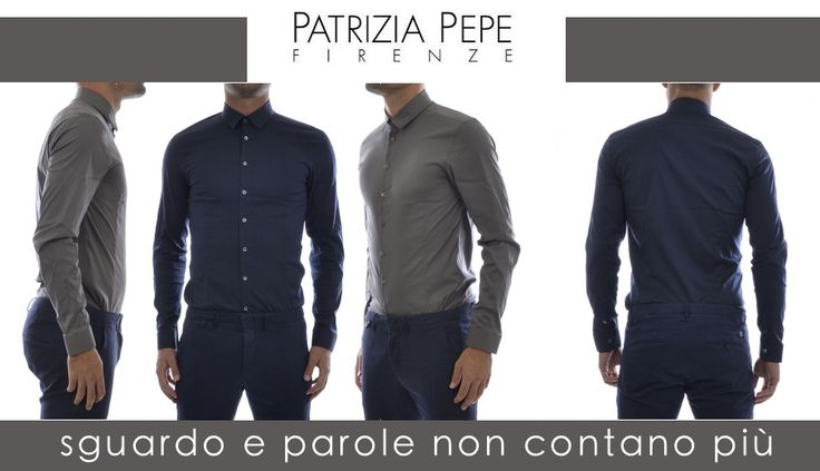 Camicia base in #cotone stretch, slim fit, disponibile in diversi #colori. Cade a pennello! http://bit.ly/1zAYzuG #camicia #clothes #abbigliamento #shoppingonline