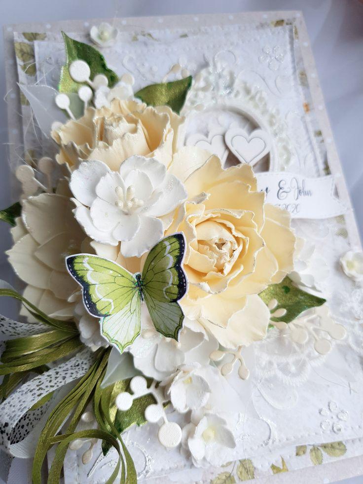 Congratulations anniversary card, elegant wedding gift