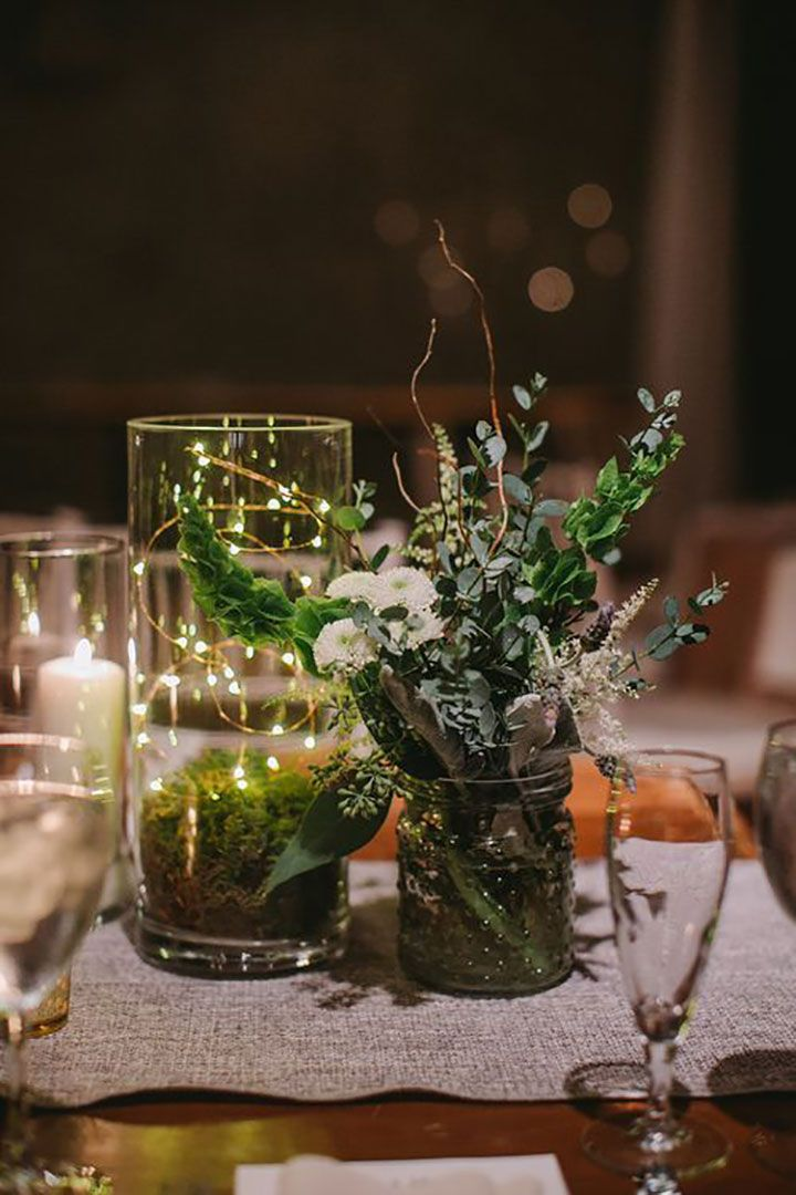 Wedding Inspiration In 2020 Modern Wedding Centerpieces Winter