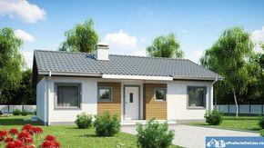 proiecte de case mici pe un singur nivel Small single level house plans 2
