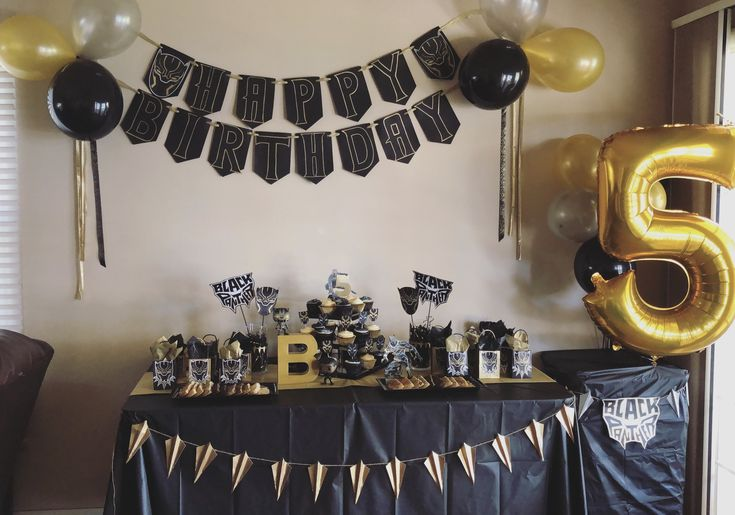 96 Best Marvel Black Panther Theme Party Images On Pinterest