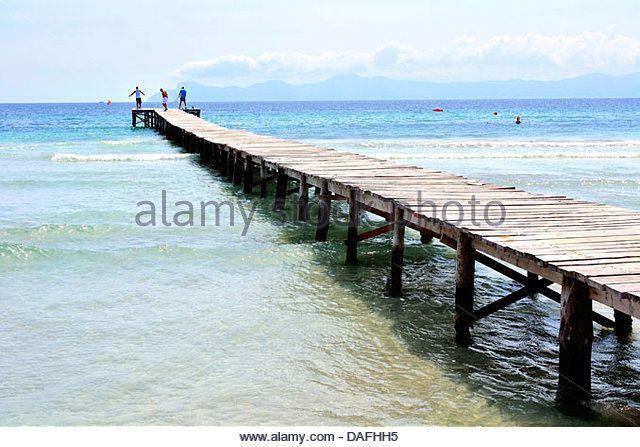 Majorca, Spain pier | ... majorca spain alcudia beach mallorca spain balearic islands spain