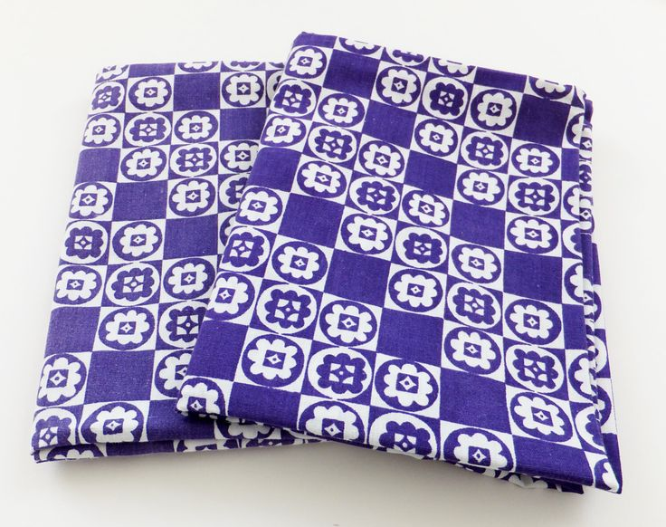 Vintage Bedding, Set of Two Pillowcases. Purple flowers. Supplies. Vintage Pillow Slipcovers. Cushion Cover by PeonyandThistle on Etsy https://www.etsy.com/listing/195914168/vintage-bedding-set-of-two-pillowcases
