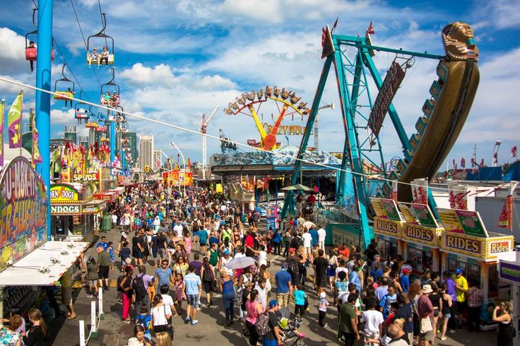 #CNE2015 opens in exactly one week! Who's coming? http://goo.gl/rk2nlS Let's go to The EX! #toronto #events