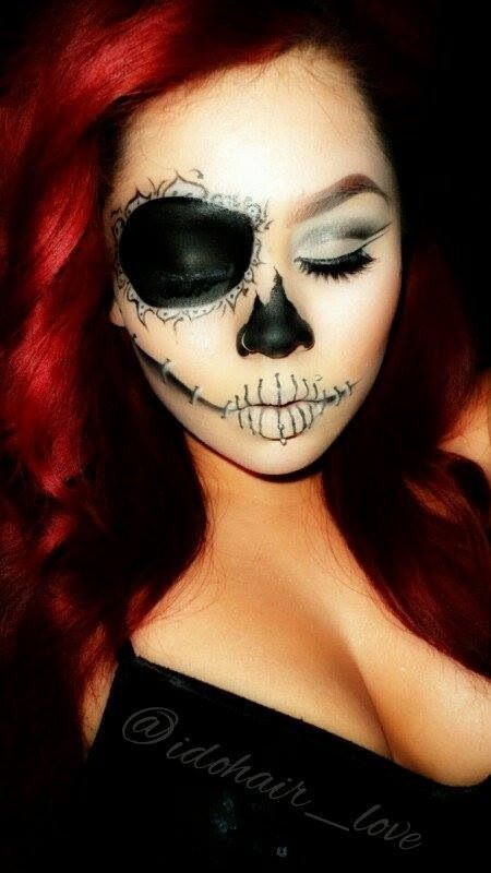 8 best Maquillaje images on Pinterest | Make up, Costumes and ...