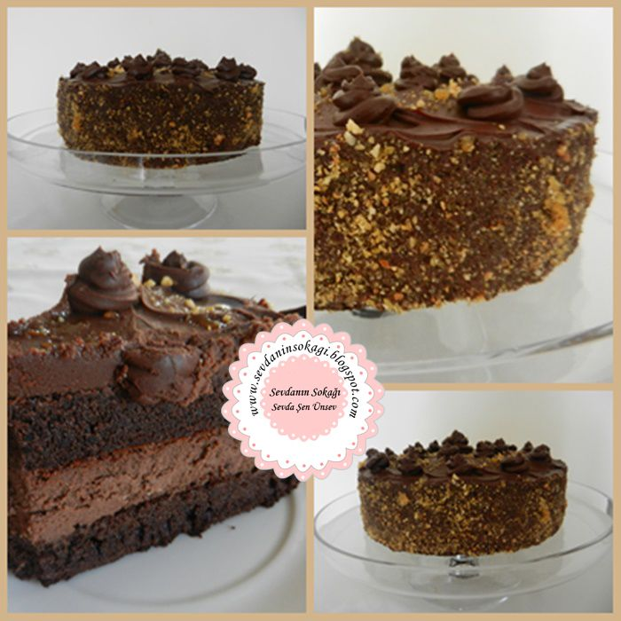 Çikolatalı Cheesecake Pastası