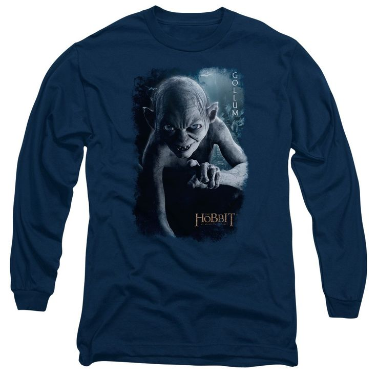 """Checkout our #LicensedGear products FREE SHIPPING + 10% OFF Coupon Code """"Official"""" The Hobbit / Gollum Poster - Long Sleeve Adult 18 / 1 - The Hobbit / Gollum Poster - Long Sleeve Adult 18 / 1 - Price: $29.99. Buy now at https://officiallylicensedgear.com/the-hobbit-gollum-poster-long-sleeve-adult-18-1"""