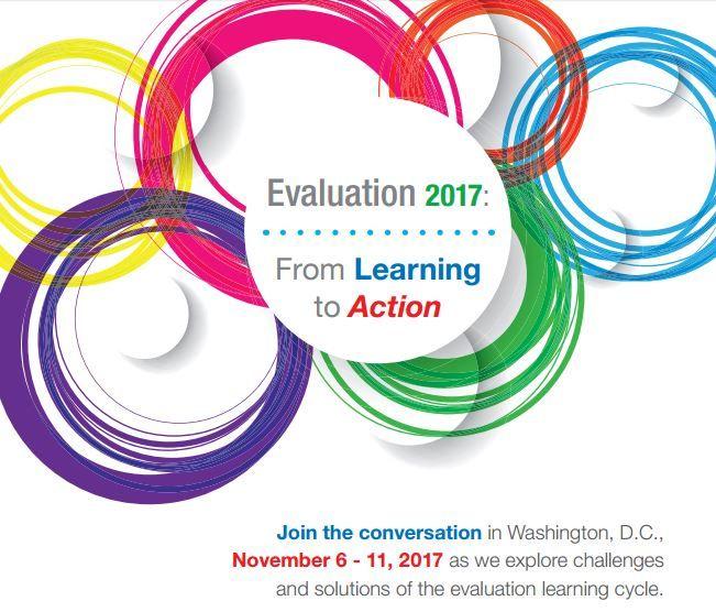 Washington Evaluators - AEA Annual Conference:  Evaluation 2017