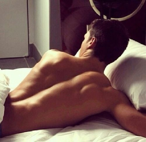 Back muscles ;) male model photography