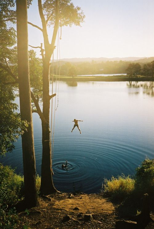 Lake jumps