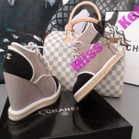Новинки : Ботильоны Chanel grey