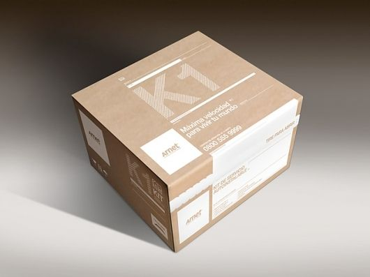 Packaging Option With Recycled Paper Crediting Arnet Box Wood