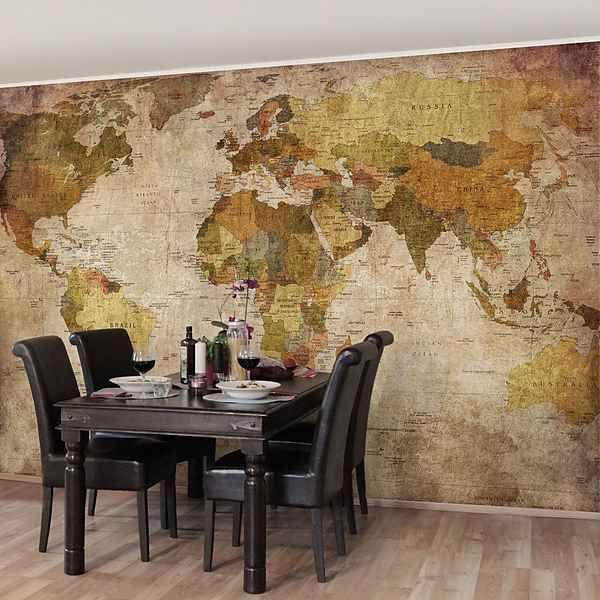 Die besten 25+ Weltkarte tapete Ideen auf Pinterest Weltkarte - fototapete wohnzimmer braun