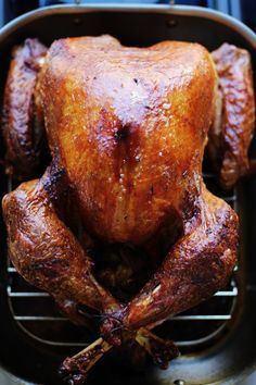 how to cook a brined turkey