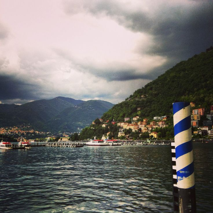 Even without sun is a beautiful lake_Como