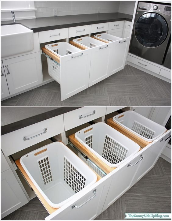 Install A Highly Functional Pull Out Basket Drawer