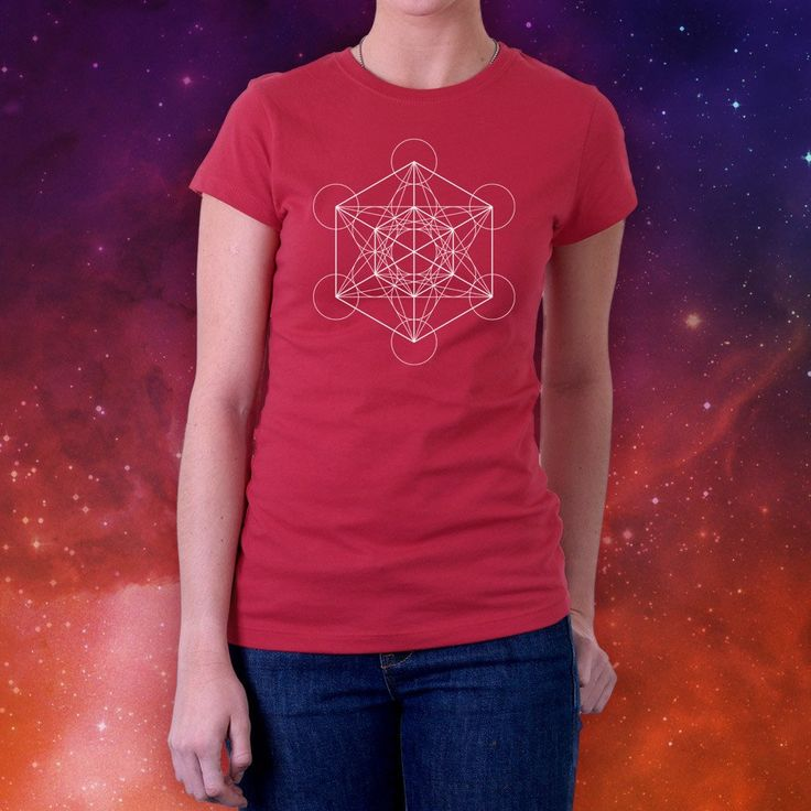 Metatron's Cube Short Sleeve Tee