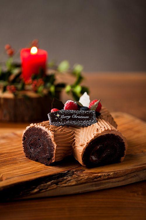 アンダーズ 東京が贈る初のクリスマスケーキ - 濃厚な味わいのブッシュ・ド・ノエルなどの写真1