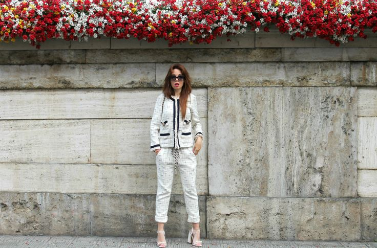 9 elisa bellino outfit of the day fashion outfit chanel shirt a porter