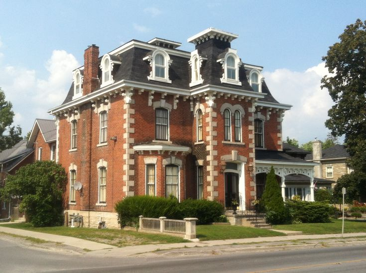 Best Second Empire Exactly Like Italianate But With Mansard 400 x 300
