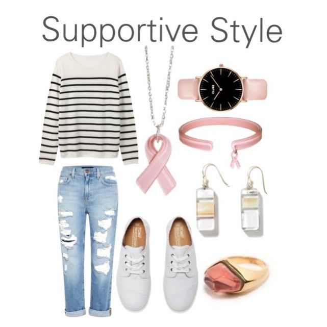 There is nothing more in style than supporting other women! #BreastCancer #colorbyamber