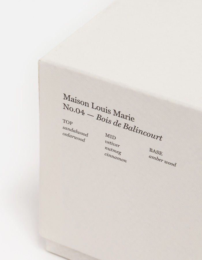Maison Louis Marie – No.04 Bois De Balincourt articles on Apartment Magazine. Cool Products thoughts, ideas and images all about life in apartments by Apartment Magazine.