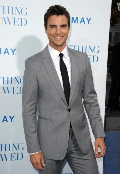 Colin Egglesfield from Something Borrowed. Yum.
