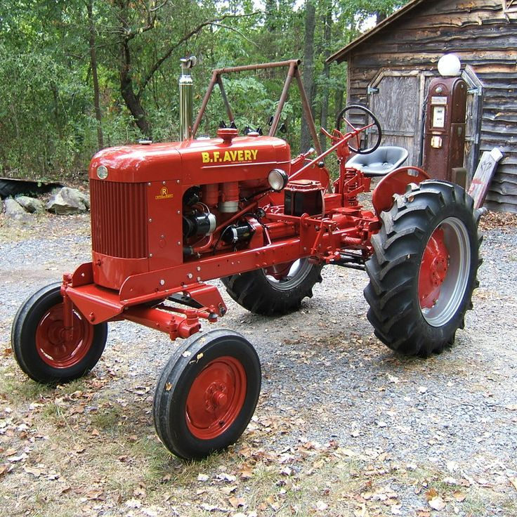 Oldest Antique Tractors : Best b f avery tractors images on pinterest old