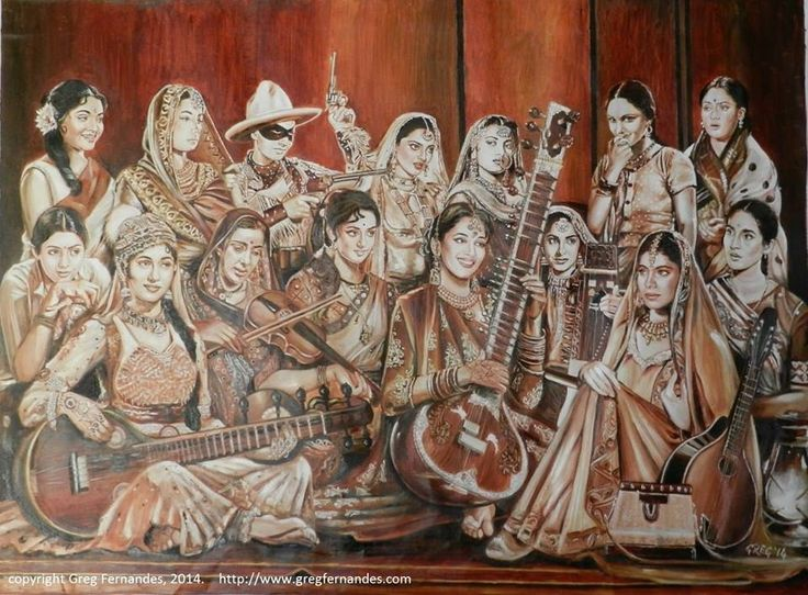 """India's first movie 'Raja Harishchandra' opens with a scene of a tableaux patterned on the painting by Varma. Hence, I thought it would be fitting to pay a tribute to Varma and Bollywood combined,"" Greg Fernandes told BuzzFeed India in a message. 