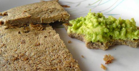pan de harina de lentejas