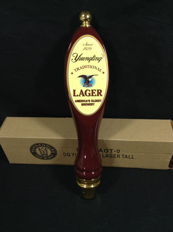 Yuengling Lager Beer Tap Draft Draught Keg Handle Mancave