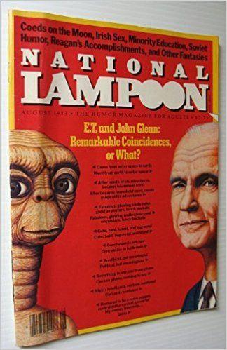 National Lampoon Magazine August, 1983: L. Dennis Plunkett ( Ed.), Color & b/w Photos & Illustrations: Amazon.com: Books