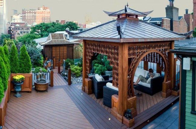 HappyModern.RU | Деревянные беседки (65 фото): уютный уголок релакса на вашей даче | http://happymodern.ru