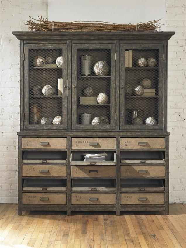 best 25 rustic china cabinet ideas on pinterest china. Black Bedroom Furniture Sets. Home Design Ideas