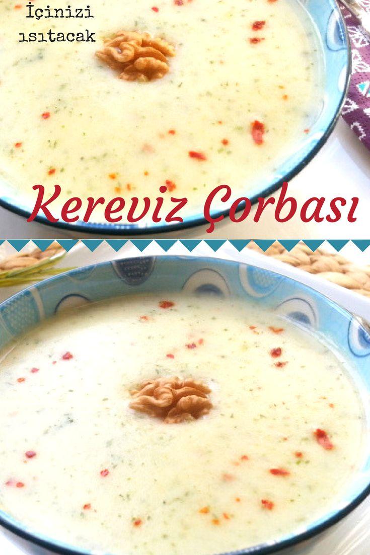 Kremalı Tadında Muhteşem Kereviz Çorbası
