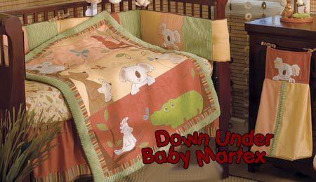 Kangaroo Koala Bear Australia Theme Baby Crib Nursery