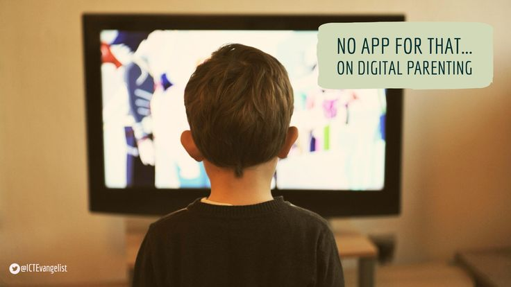 No app for that – on digital parenting