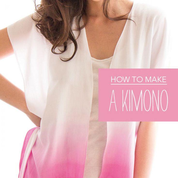 Coudre son kimono? Facile!
