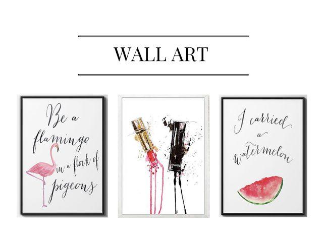 wallarg, wall art, pastel wall painting, paintings, watercolor painting, interior inso, inspiration, decor, interior blogger